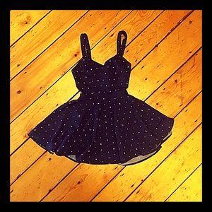 100% silk rhythm. birkin chambray skater dress s